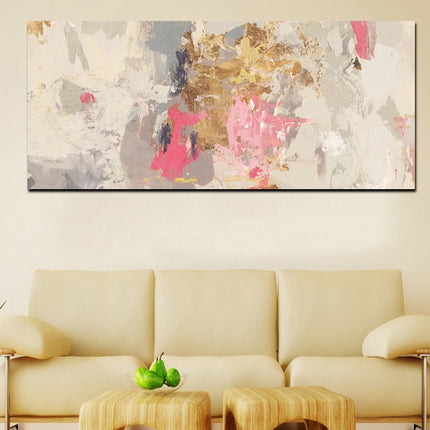 Abstract Pink Gray Modern Wall Art Fine Art Canvas Prints Contemporary Nordic Pictures Warm Colors For Office Or Living Room Bedroom Wall Art Decoration