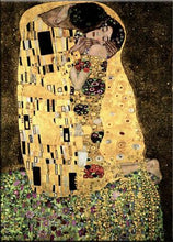 Load image into Gallery viewer, Famous Painting, Gustav Klimt, The Kiss, Poster Art Canvas Print Wall Art Decoration Classic Paintings Printed on Canvas For Modern Home Decor
