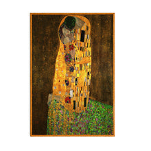 Load image into Gallery viewer, Famous Paintings Gustav Klimt The Kiss and The Embrace Fine Art Canvas Prints Classic Art Wall Posters For Modern Salon Office Home Decor