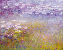 Load image into Gallery viewer, Famous Artists Claud Monet Water Lilies Poster Fine Art Canvas Print Classic Colorful Impressionism Floral Garden Landscape Art Decor