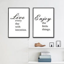 Load image into Gallery viewer, Inspirational Quotes For Life Posters Minimalist Modern Home Decor Wall Art Canvas Prints Paintings For Living Room Decor