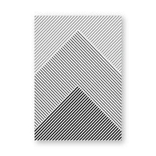 Load image into Gallery viewer, Modern Abstract Black And White Minimalist Geometric Line Art Fine Art Canvas Prints Nordic Style Wall Art For Office Or Home Interior Design