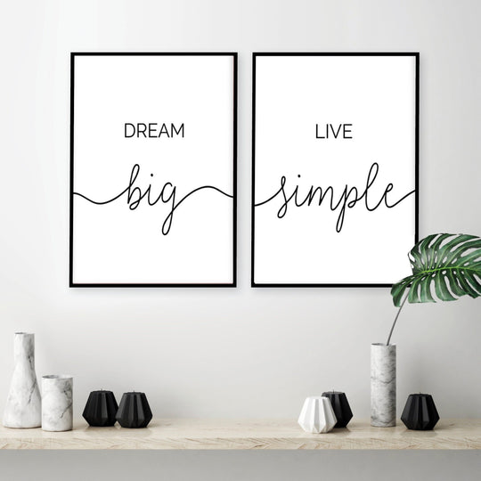 Black & White Life Quotes Wall Art Minimalist Inspirational Letters And Quotes Fine Art Canvas Prints Nordic Style Posters For Modern Home Decor