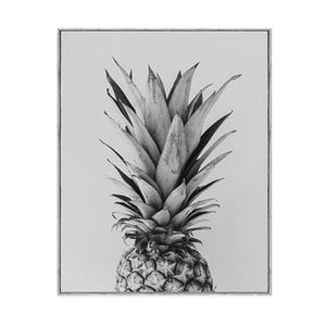 Be Brave Be Kind Pineapple Art Quotations For Life Nordic Wall Art Poster Abstract Black White Canvas Prints For Modern Home Decoration