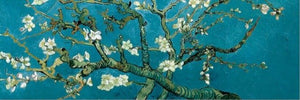 Vincent Van Gogh, Almond Blossom Poster Fine Art Canvas Print Wall Art Poster Famous Dutch Post-Impressionist Paintings For Modern Home Decor