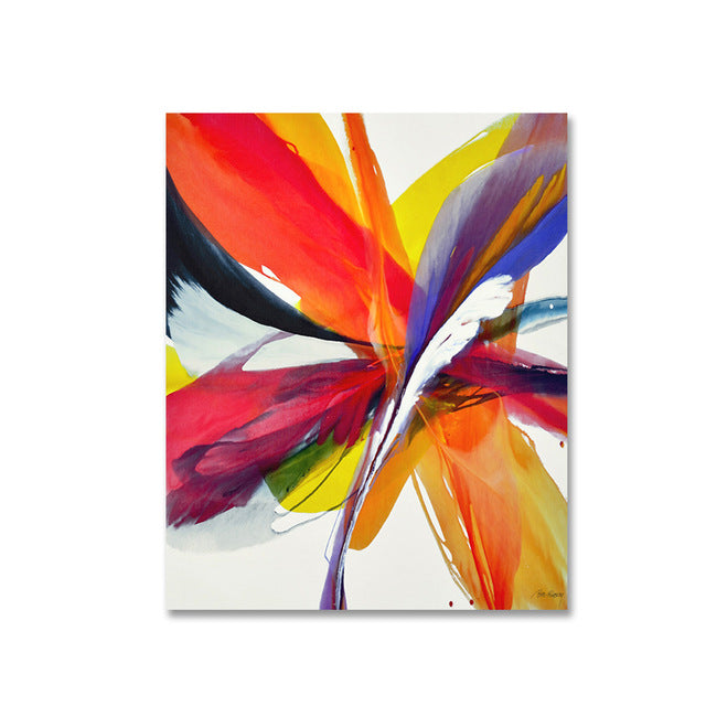 . Modern Colorful Abstract Art Paintings Contemporary Fine Art Canvas Prints  Posters For Offices Businesses Salons Modern Home Decor Art