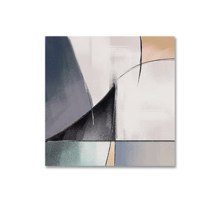 Bold Abstract Composition Geometric Shapes Contemporary Wall Art Posters Fine Art Canvas Prints Paintings For Modern Office Home Decor