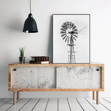 Load image into Gallery viewer, Vintage Windmill Black And White Minimalist Wall Art Fine Art Canvas Prints Posters For Farmhouse Kitchen Living Room Bedroom Modern Home Interior Decor