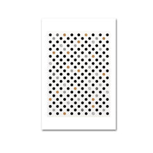 Load image into Gallery viewer, Modern Abstract Wall Art Posters Nordic Style POP Art Floral Portrait Geometric Marble Dots Art Sh*t Happens Quotation Fine Art Canvas Prints