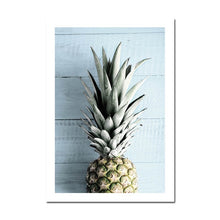 Load image into Gallery viewer, Exotic Tropical Dreams Travel Posters Pineapple & Palms Holiday Dreams Gallery Wall Art Fine Art Canvas Prints Pictures Nordic Style Home Decor