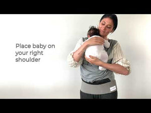 Load and play video in Gallery viewer, BabyDink Organic Carrier - Black
