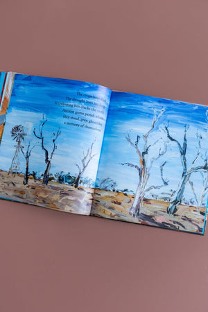 Load image into Gallery viewer, Mallee Sky Book book Kiin Baby