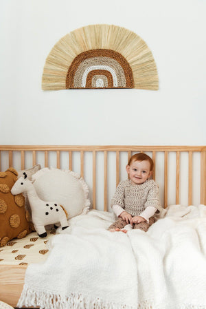 Load image into Gallery viewer, Rayung Rainbow Wall Hanging Kiin Baby