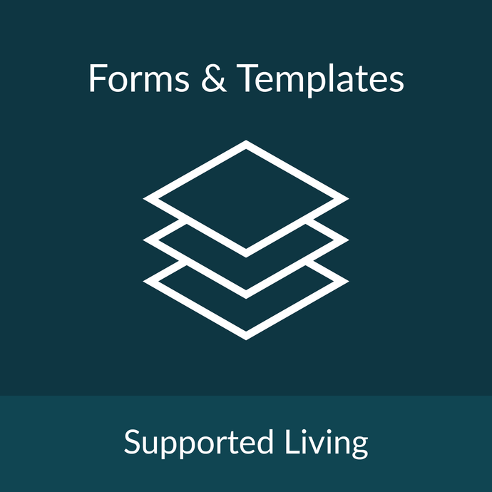 Forms & Templates - Supported Living