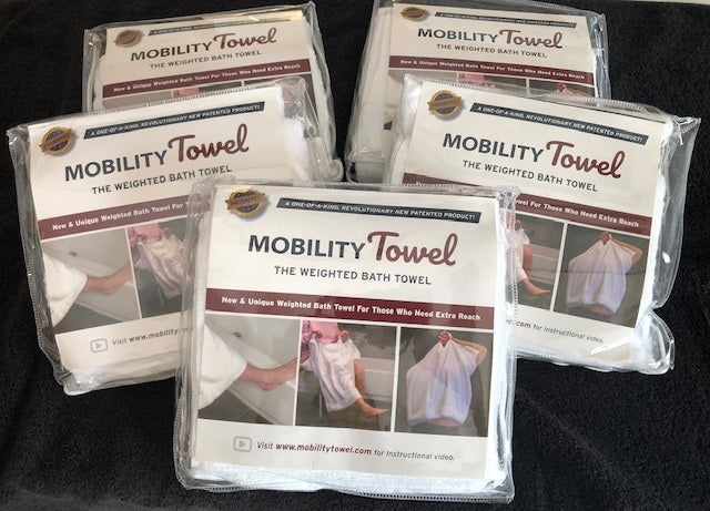 Family Pack of 5 Mobility Towels