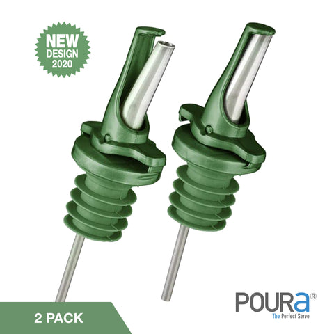 Olive Oil Pourer (Green, 2 Pack)