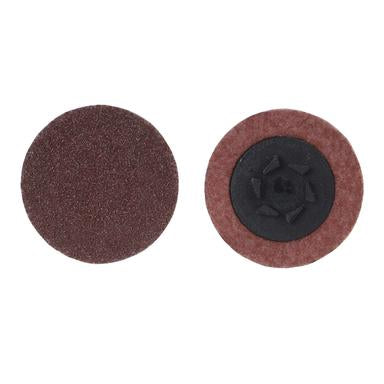Norton 1-1/2 Merit Aluminum Oxide Plus Qc-T1 120 Grit /& Merit Quick-Change Discs #08834164398