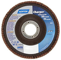Norton 4-1/2 X 5/8-11 Charger Type 29 36 Grit /R822/Flap Discs And Merit Powerflex Flap Discs #66261121290