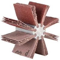 Norton 5-1/4 To 5-7/8 Merit Aluminum Oxide 80 Grit /Bore Polishers #08834154173