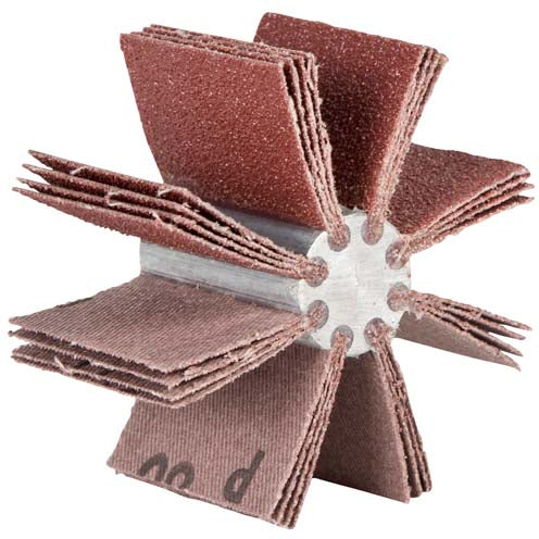 Norton 4-1/4 To 5-1/4 Merit Aluminum Oxide 240 Grit /Bore Polishers #08834154167