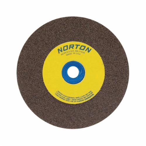 Norton 12 x 2 x 1-1/4 Gemini Crystolon Fine 80 Surface Grinding Wheel/Bushed to 1 Type 1 #66253263360