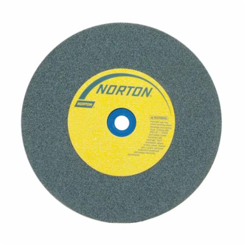 Norton 12 x 2 x 1-1/4 Gemini Crystolon Med 60 Surface Grinding Wheel/Bushed to 1 Type 1 #66253263359