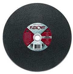 10-Pk Flexovit High Performance Cut-Off Wheel T1 F4818 12 In X 3/32 In X 1 In A30Rb
