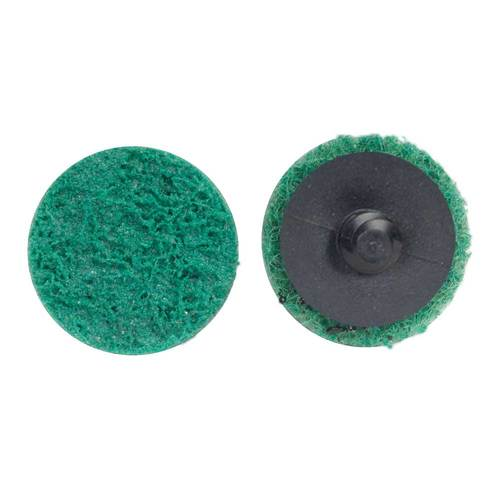 100-Each 3 Inch Dia. A/O Very Fine Quick-Change Type II TS Surface Conditioning Disc with 3M Scotch-Brite