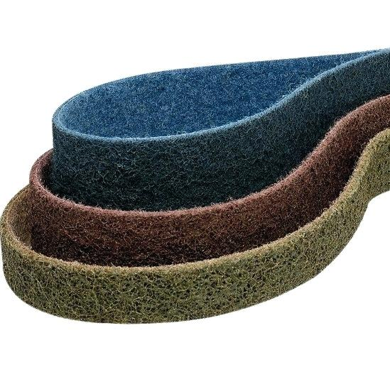 3-Pk Scotch-Brite Surface Conditioning Low Stretch Belt 25 In x 60 In MED