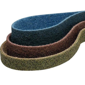 25-Pk Scotch-Brite Surface Conditioning Low Stretch Belt 3-1/2 In x 15-1/2 In Very Fine