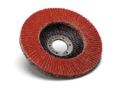 10-Pk Butter(TM) Vsm Xk870X Ceramic Flap Disc Cr40 T27 4-1/2 In X 7/8 In 40