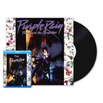 "Prince & The Revolution - ""Purple Rain"" Vinyl LP & Blu-ray Bundle"