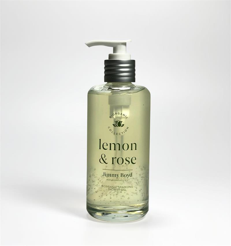 Jimmy Boyd Suihkugeeli 200ml Lemon & Rose (03) - 4Organic Store