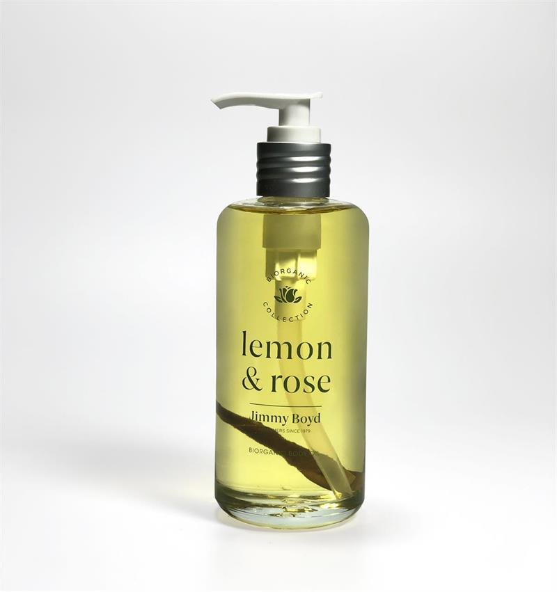 Jimmy Boyd Vartaloöljy 200ml Lemon & Rose (03) - 4Organic Store