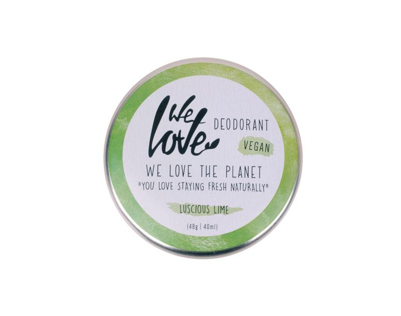 We Love The Planet Lucsious Lime - voidemainen deodorantti - 4Organic Store