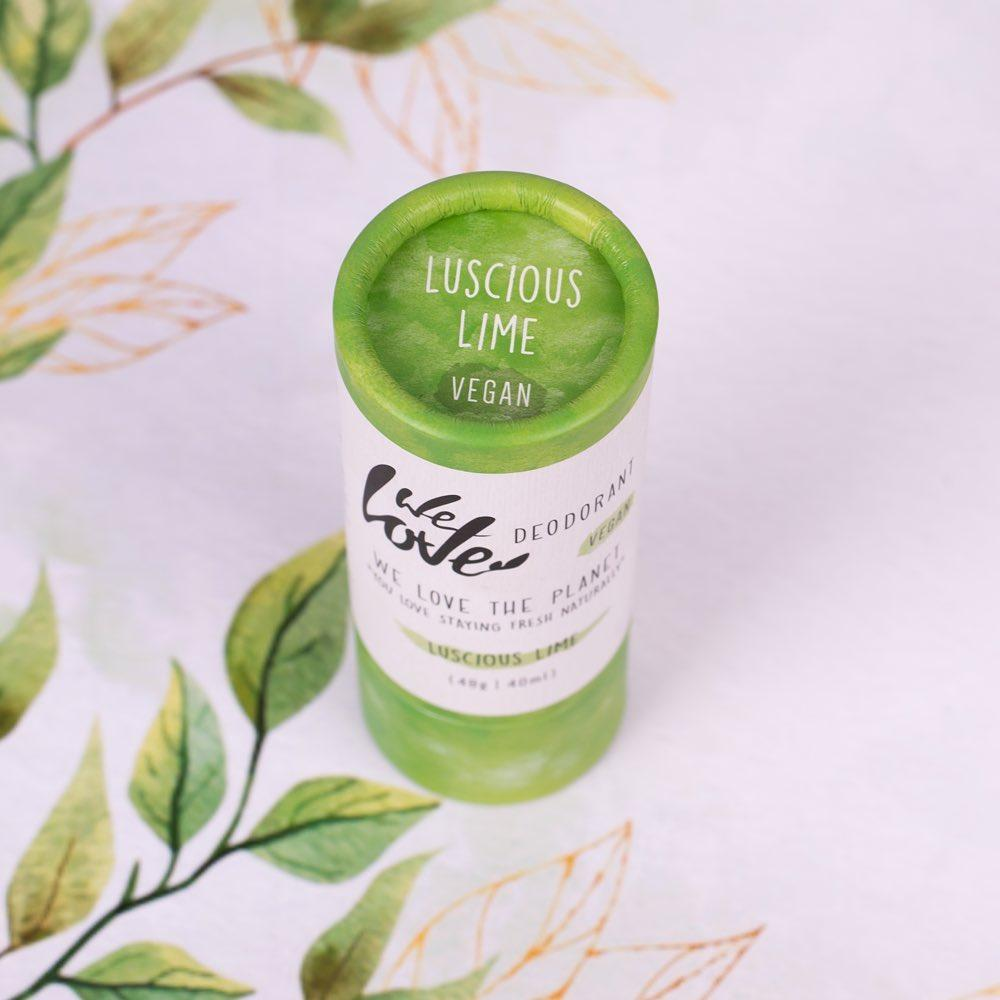 We Love The Planet Luscious Lime - deodorantti stick 48g - 4Organic Store