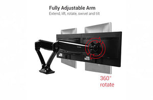 Heartwood Dual Monitor Arm | 100-MA2