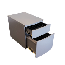 Load image into Gallery viewer, Heartland's Box/File Metal Mobile Pedestal