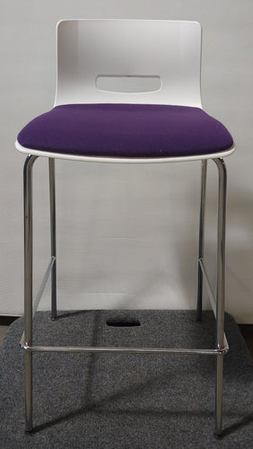 Tall Purple Stool