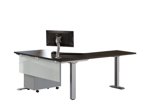 Heartwood Height Adjustable Workstation | Layout 61