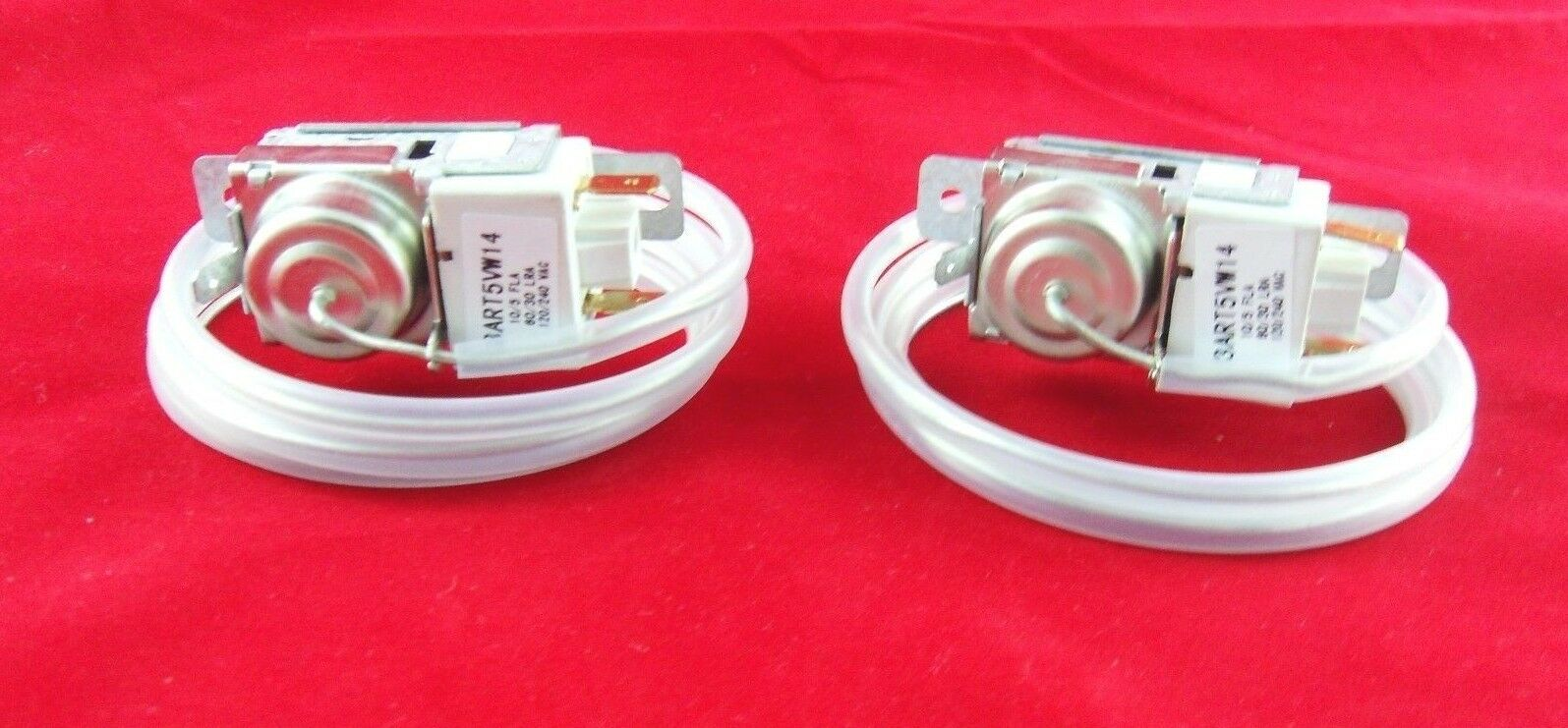 Refrigerator Thermostat for Whirlpool, Sears    2198202 New  2 Pack