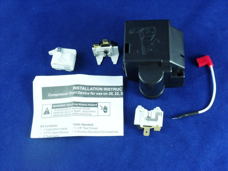 8201799 Refrigerator Relay Overload kit for Whirlpool Kenmore New