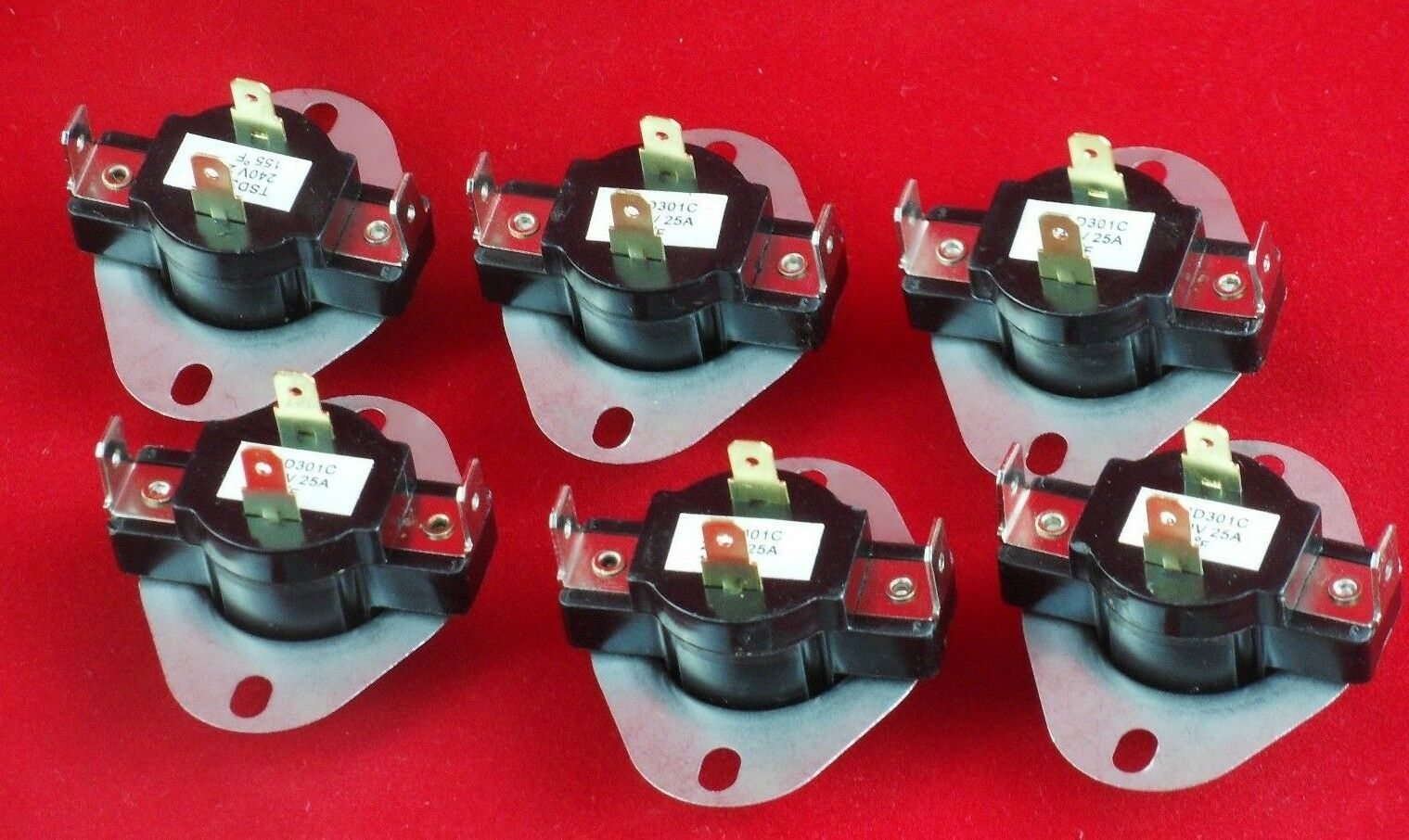3387134 New Dryer Operating Thermostat for Whirlpool Kenmore  6 Pack