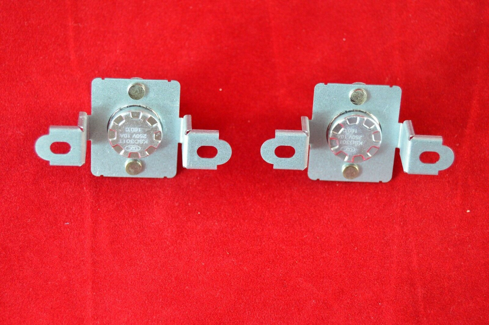 Thermostat for Samsung Dryer DC96-00887A New 2 Pack