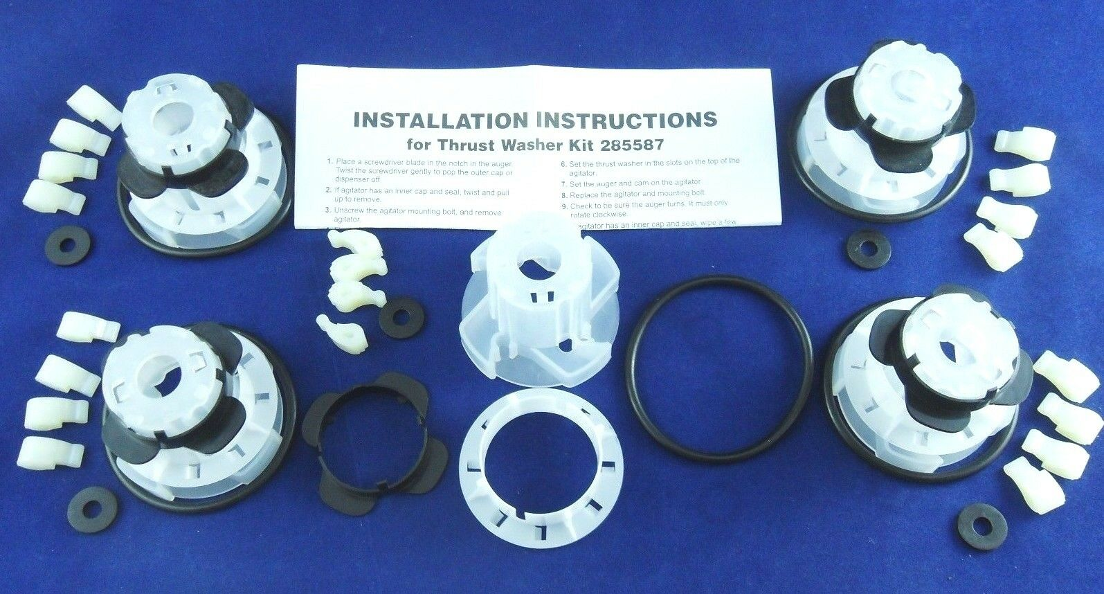 New Washer Agitator Dogs Cam Kit 285811 for Whirlpool Kenmore 5 Pack