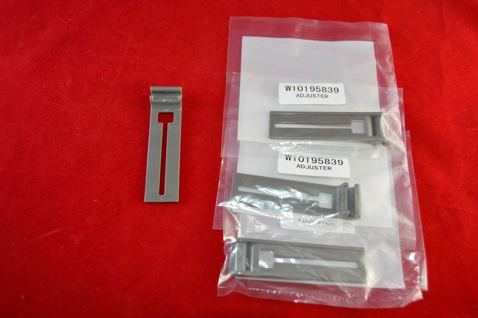 W10195839 Dishwasher Rack Adjuster PS3407015 New 4 Pack