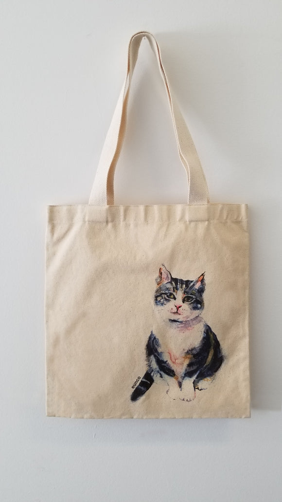 Tote Bag, Cat ( Frankie)
