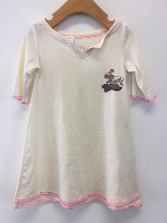 Organic Cotton Dress - Bunny