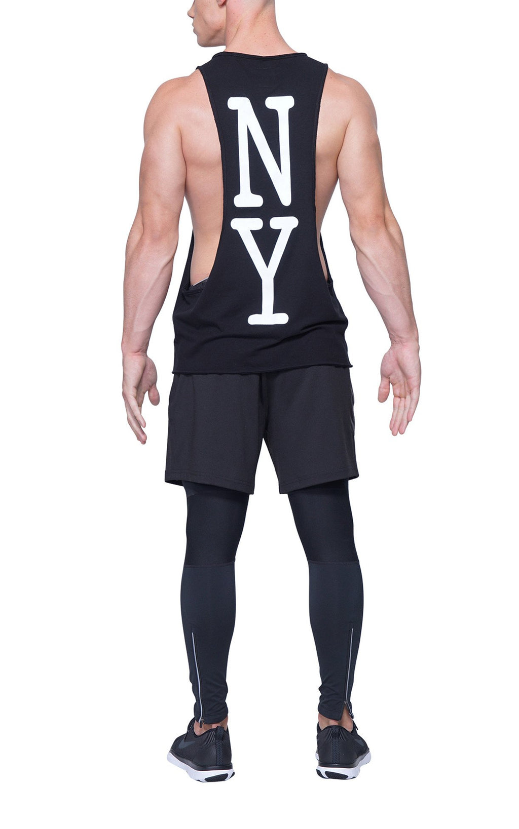 New York Racerback | Black