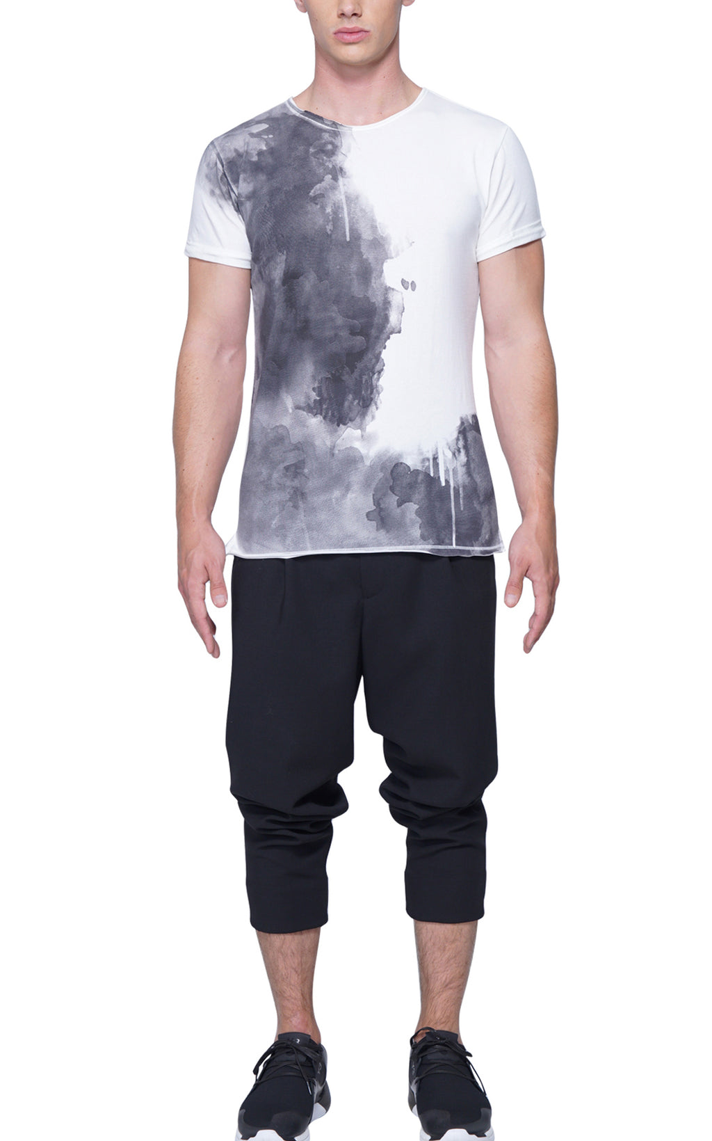 Splash Artist Tee | Black